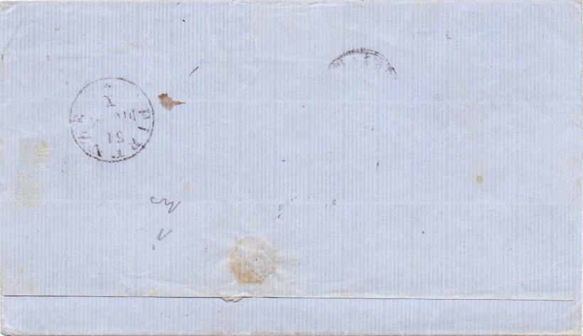 lettera 10 cent bruno bistro verso