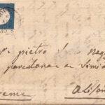lettera 20 cent 1854