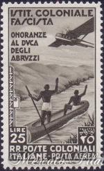 25 Lire Onoranze al Duca degli Abruzzi ★★