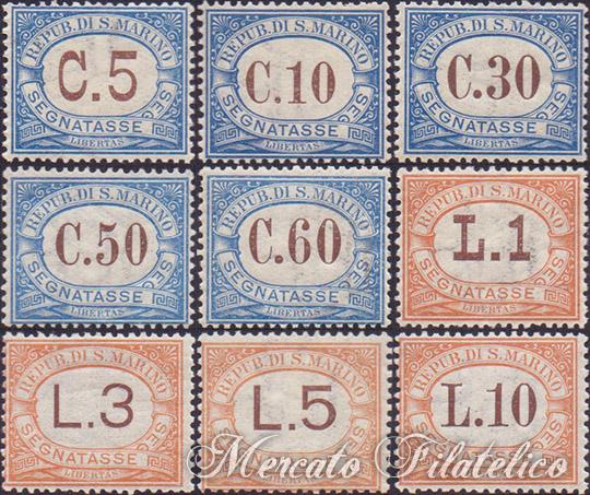 segnatasse 1925