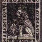 1 Quattrino nero 1857 usato
