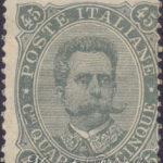 45c verde grigio 1889