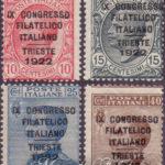 Congresso Filatelico di Trieste ★★