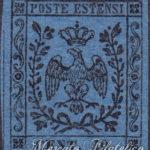 40 centesimi azzurro scuro