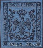 40 Centesimi azzurro scuro ★