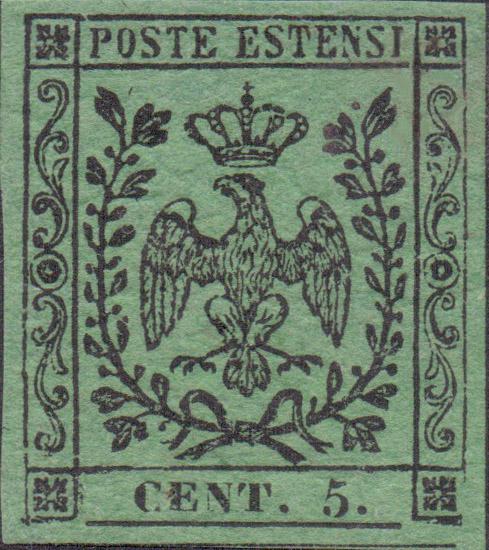 5 centesimi verde