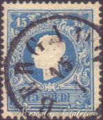 15 Soldi azzurro I tipo usato