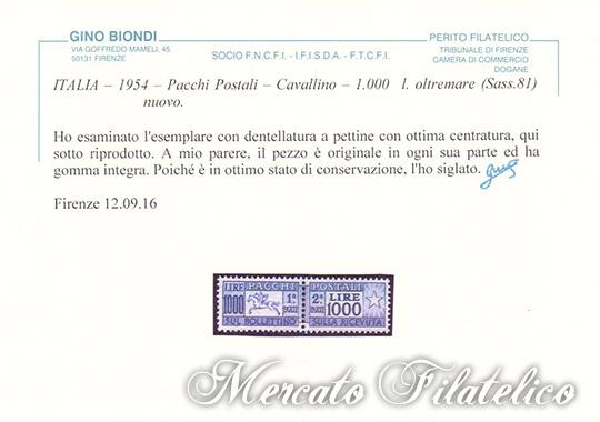 cavallino centrato certificato