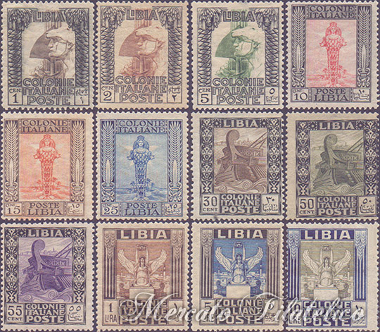 pittorica 1921 libia