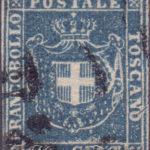 20 Centesimi azzurro usato