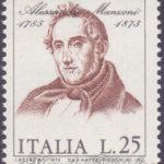Alessandro Manzoni con calcografia spostata ★★
