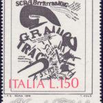 L'Arte di Tommaso Marinetti con dentellatura spostata ★★