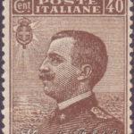 40 Centesimi bruno Vittorio Emanuele centrato ★★