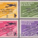 Primo volo diretto Roma-Buenos Ayres ★★