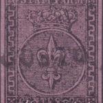 25 Centesimi violetto usato