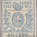 40 Centesimi azzurro ★
