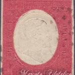40 Centesimi rosso mattone usato