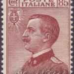 85 Centesimi bruno rosso Vittorio Emanuele ★★