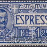 Espresso 1,25 Lire azzurro ★★