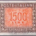 1500 Lire Segnatasse non dentellato ★★