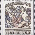 Mosaici di Piazza Armerina con stampa evanescente ★★
