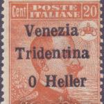 """20 Centesimi con errore """"0 Heller"""" ★"""