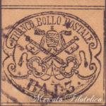 3 Baj bruno rosaceo su carta sottile usato